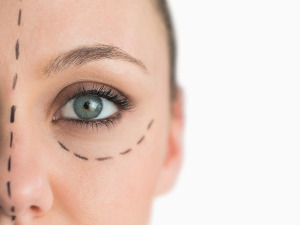 kosmetický salon - péče o oční okolí