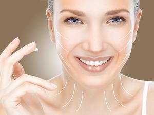 kosmetický salon - lifting obličeje